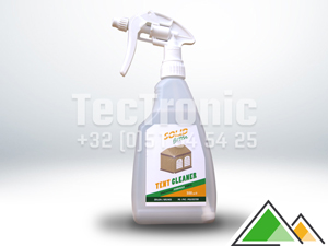 Solid Green tent cleaner