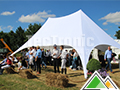 Dubbele ster tent
